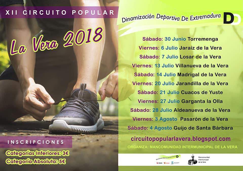 Carreras Populares Calendario.Calendario De Carreras Populares De La Vera Actualidad De Jaraiz
